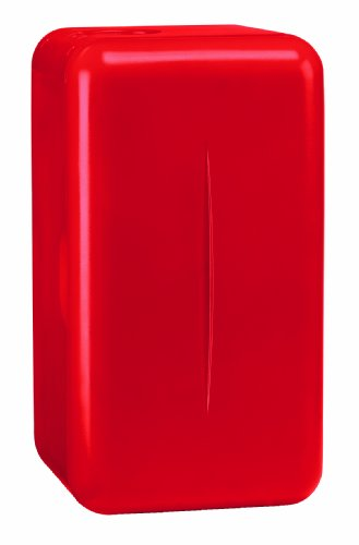 Mobicool F16, thermo-elektrischer Mini-Kühlschrank, 15 Liter, 230 V, für Catering, Büro, Hotel oder zu Hause, Rot