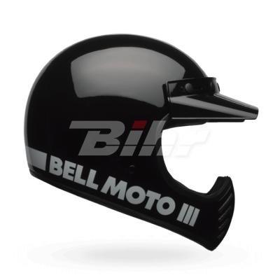 Bell Moto-3 Classic Black S Black