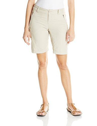 Der Columbia Frauen East Ridge Shorts, Fossil, 10 x 10 Zoll Frauen Shorts Von Columbia