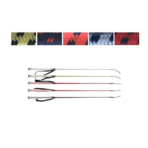NETPROSHOP Reitgerte Dressur mit Gelgriff 80 cm, Farbe:Hellrot, Groesse:80 cm