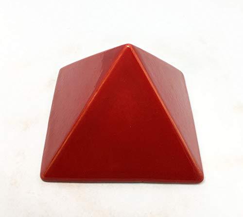 Pyramide Energieversorgung Keramik–9x 9x 7cm–Gleichgewicht und Harmonie Vibra der Wohnung. Verwirklichung handwerkliche, Unikat.