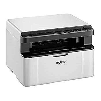 Brother DCP-1610W 'All in Box Bundle' Mono Laser Printer - All-in-One, Wireless/USB 2.0, Printer/Scanner/Copier, Compact, A4 Printer, Up To 3 Years' Worth Of Printing