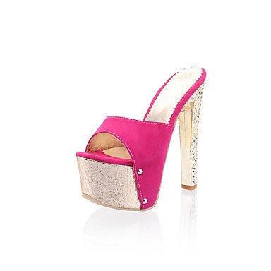 LvYuan Da donna-Sandali-Formale Serata e festa-Comoda Con cinghia-A stiletto-PU (Poliuretano)-Blu Argento Dorato Rosa rose pink