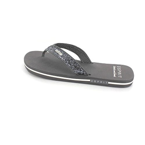 ESPRIT GLITTER THONGS 036EK1W001015 adulte (homme ou femme) Chaussures de sport Gris