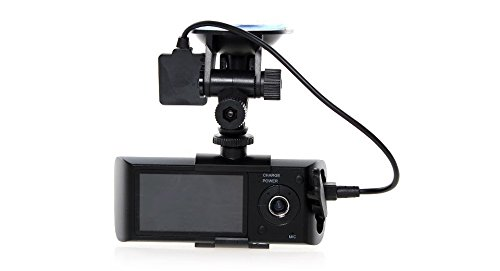 "Tiny Deal X3000 2.7"" TFT CMOS Dual Lens HD Vehicle Car DVR Camcorder with G Sensor / GPS Tracker"