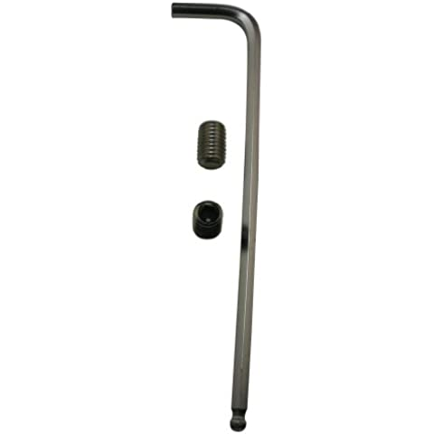 Generic 304acciaio inossidabile presa standard m10x 16Vite a brugola con adatto a brugola chiave chiavi strumenti Set (Confezione da 10)