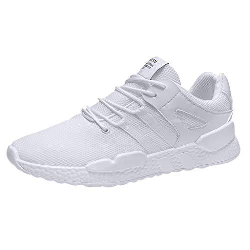 Epig Herren Sommersport und Freizeit Mesh Schuhe Wild Trend White Shoes 6-zoll-sexy White Schuh