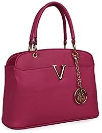 Women Marks Women's Pu Hand Held Bag Pink (V)