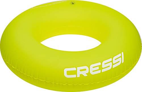 Cressi Swim Jungen Swim Aufblasbarer Ring Meer Und Schwimmen, Grün, 90 cm