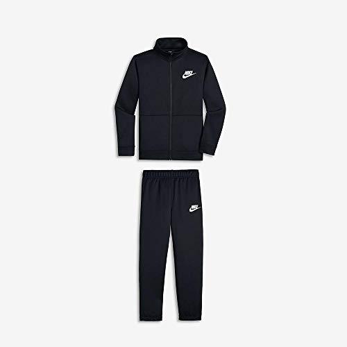 Nike Sportswear, Tuta Bambini e Ragazzi, Nero (Black/Black/White 010), Small