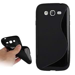 Rocina TPU Case Wave für Samsung i9080 Galaxy Grand in schwarz