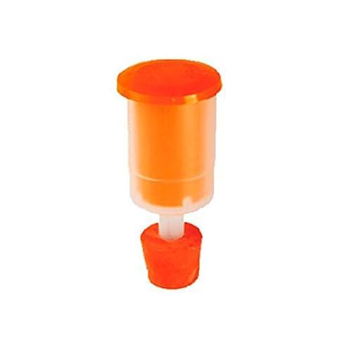 Bouchonnerie Jocondienne 431 Bonde Aseptique pour Tonnelet Plastique Rouge 11,5