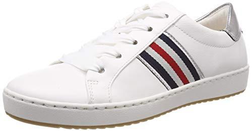 Jenny Dublin 2253226, Zapatos de Cordones Derby para Mujer, Weiss, Silber 78, 38 EU