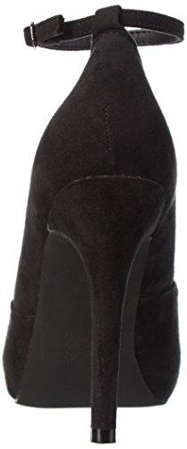 Pompa Bianca Con Cinturino Alla Caviglia 24-49006 Pompe Schwarz (nero / 10)
