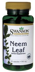 Swanson Neem leaf (500mg, 100 Capsules) Test