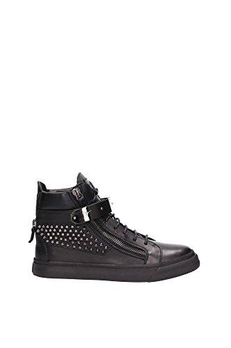 RM5049LONDONNERO Giuseppe Zanotti Sneakers Homme Cuir Noir Noir