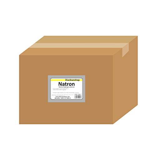 Natron 25 kg im Karton - pharmazeutische Qualität - Natriumhydrogencarbonat (E500ii) - NaHCO3 - Basenbad - Hausmittel zum Backen, Reinigen, Baden, Gerüche Neutralisieren & DIY-Kosmetik