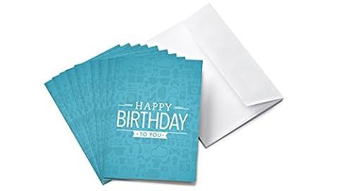 Amazon.de Grußkarte mit Geschenkgutschein - 10 Karten zu je 25