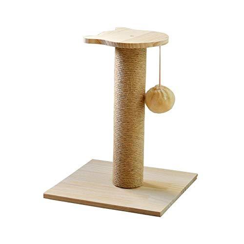 Ludage Haustier Massivem Holz Katze Klettern Regal CAT Claw Platte Katze Baum Katze Nest solide Holz-Regal Kiefer Klettergerüst -