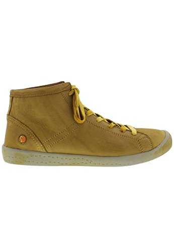 Softinos Damen Isleen Smooth High-Top Camel/Beige