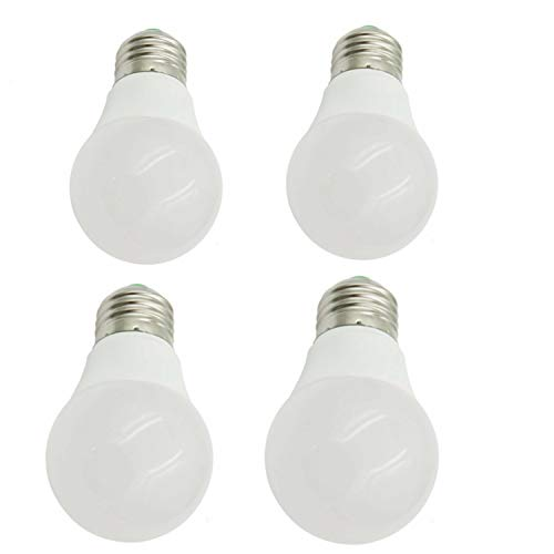 aiyowei E273W Ball LED-Leuchtmittel 300lm 5730SMD DC/AC 12-24V Explosion Proof Energiesparend Haushalt LED-Lampe Tageslicht Licht Warmweiß 3000K (4Stück) -