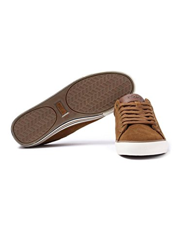 Polo Ralph Lauren scarpe sneakers uomo camoscio nuove blu COGNAC