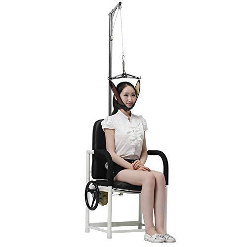 WLIXZ Zervikale Zugvorrichtung, Zugstuhl, Halszugvorrichtung, ideal für die Linderung der Schmerzen von steifen Muskeln