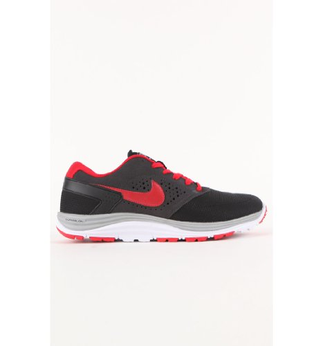 NIKE SB Skate Shoes Lunar Rod black/red Black / Red / Grey