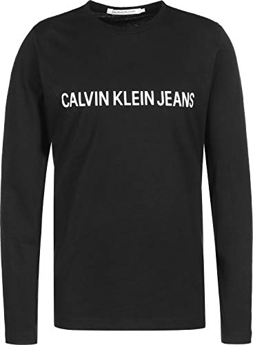 Calvin Klein Jeans Institutional Longsleeve Black