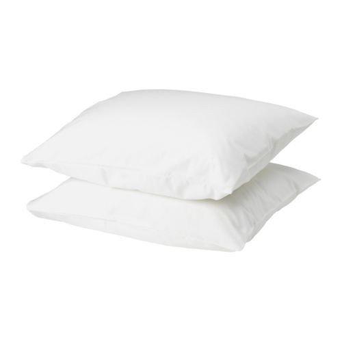 nbezug in weiß (80x80cm); 2er Pack ()