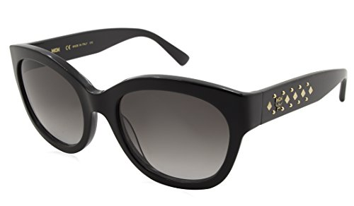 MCM Sunglasses 606 001 Black womens Oval 56X20X140