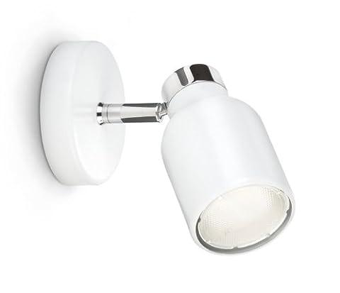 Spot Blanc Patere Gu10 - Philips Ecomoods Patère Eclairage de Mur 1