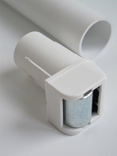 Gurtleitrolle, Steckleitrolle mini nadelgelagert mit Bürste für 14 mm Gurt