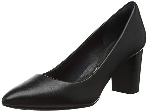 Rockport Total Motion Violina Luxe Pump, Zapatos de tacón con Punta Cerrada para Mujer, Negro Black...
