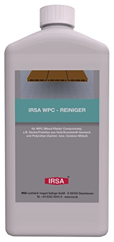 Gartenmöbel Deck (1 Liter IRSA WPC Spezial - Reiniger - für Wood Plastic Composites und Polyrattan z.B. Gartenmöbel, Outdoor-Möbel oder WPC Decks)