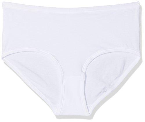 Pompea cotton, slip donna, bianco (bianco 0024), 48 (taglia produttore:5)(pacco da 3)