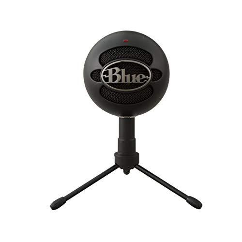 Blue Microphones Snowball iCE Microfono Condensatore, Cardioide - Nero