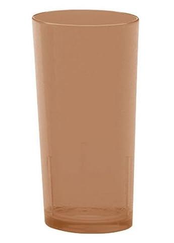 Cambro D24-609 Plastic Del Mar Tumbler, 710ml, Light Amber