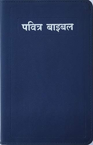 The Holy Bible Royal Blue Color SilverEdge ( HINDI)