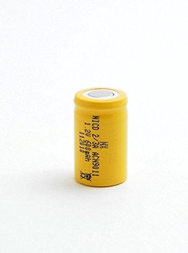 NX - Batteria Ricaricabile Nicd Industria 2/3A 1.2V 650mAh FT