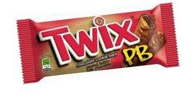 Twix Peanut Butter 47.6g x5 Bars
