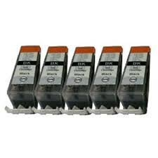 Premier Cartridges 5x Canon Compatible Printer Ink Cartridges PGI-520BK - ONLY BLACK - WITH CHIP & level announcement for Canon Pixma IP and MP Series For Canon Pixma MP540 MP560 MP550 MP620 MP640 MP630 MP980 iP3600 MP990 iP4600 MX860 iP4700 Printers. Complete with chip for easy intall.