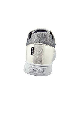 Levis Formateurs Noir Tab Lo Blanc Blanc - 225135-1720-50 white