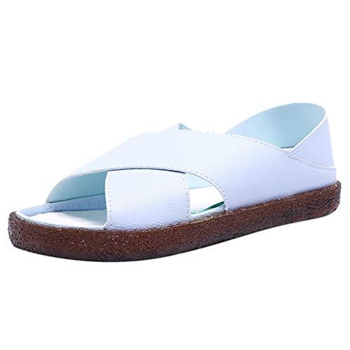 Qingsiy Sandalias Mujer Verano 2019 Planas Zapatos