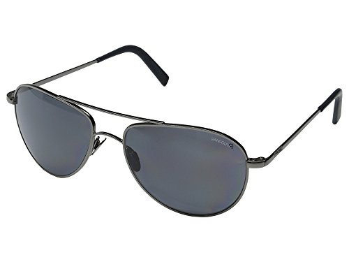 Randolph Engineering The Hawk Dark Ruthenium Polished Sunglasses - Gray Polarized PC Skull 57MM (Sonnenbrillen Engineering Randolph)