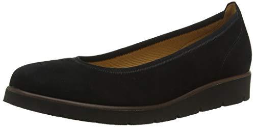 Gabor Shoes Damen Casual Geschlossene Ballerinas, Schwarz (Schwarz 17), 40 EU