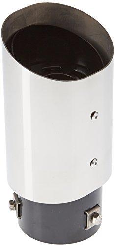 ER60023 - embout d'échappement Sortie en acier inoxydable poli, silencieux à Garniture pour visser universel Sport Sound