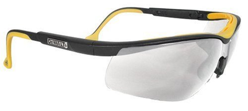 Dewalt DPG55-11C Clear Anti-Fog Protective Safety Glasses with Dual-Injected Rubber Frame and Temples by unknwon