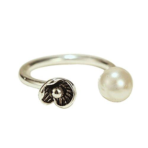 Retro Mode-Ring Silber Ring Einfache Endstück-Ring-Öffnungs-Ring Zustrom Von Men
