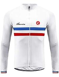 Sports Wear Uglyfrog Bandera Nacional Raya Designs Ropa Ciclismo Maillot Primavera&Otoño de Ciclistas Top Mangas Largas